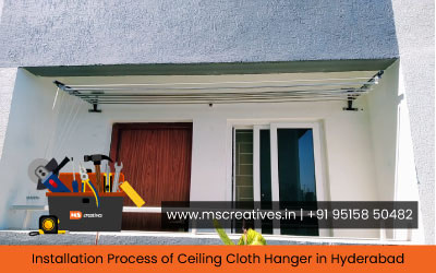 installation-process-of-ceiling-cloth-hanger-in-hyderabad